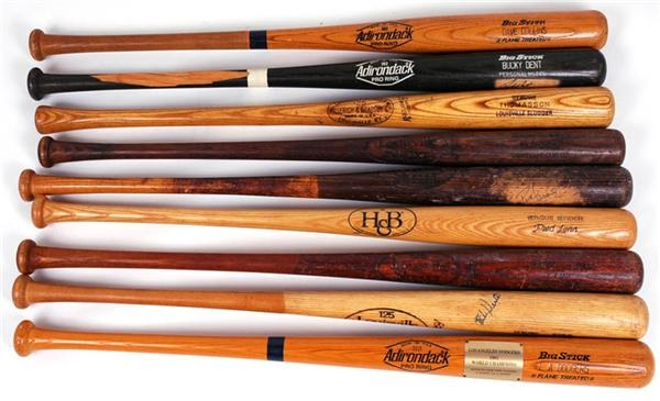 Game Used and other Baseball Bats (9)
