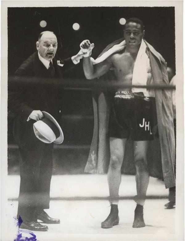 John Henry Lewis Boxing Photographs (18)
