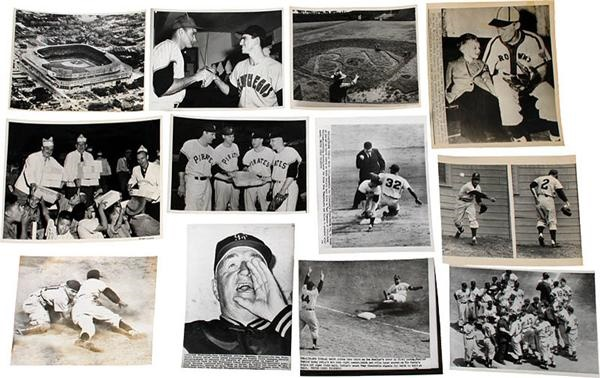 1940-1950s Baseball Photograph Lot (31)