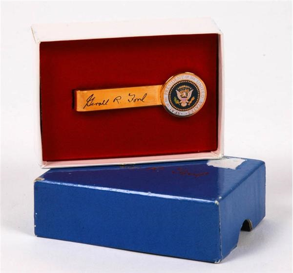 President Gerald Ford Presentation Tie-Bar