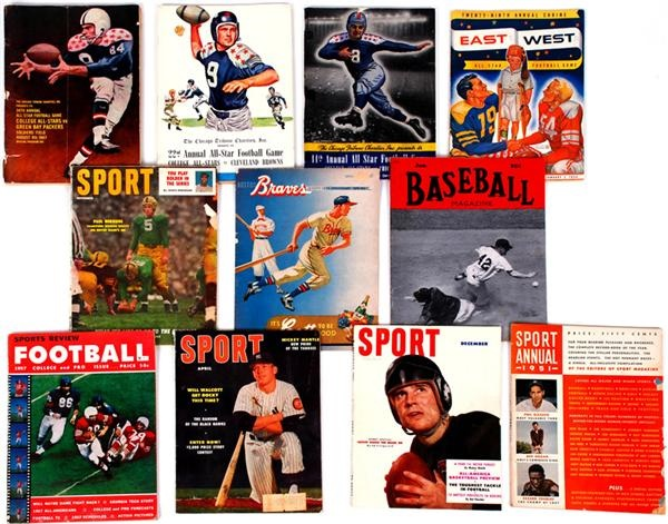Near Complete 1950s Run of Sport magazines and more (215)