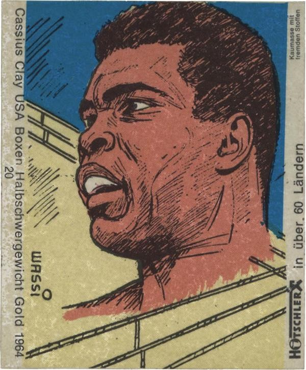 1960 Cassius Clay Hitscler Gum Company Card