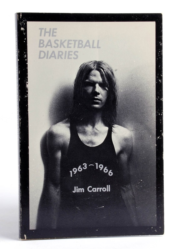 The Basketball Diaries by Jim Carroll Signed Soft Cover Book