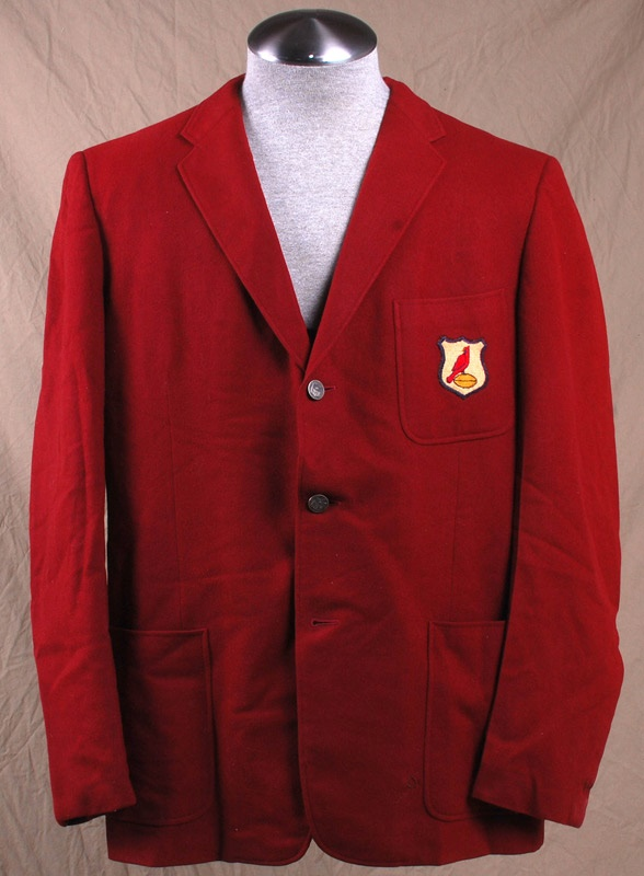 1963 St Louis Cardinals Football Team Blazer worn by Bob Paramore