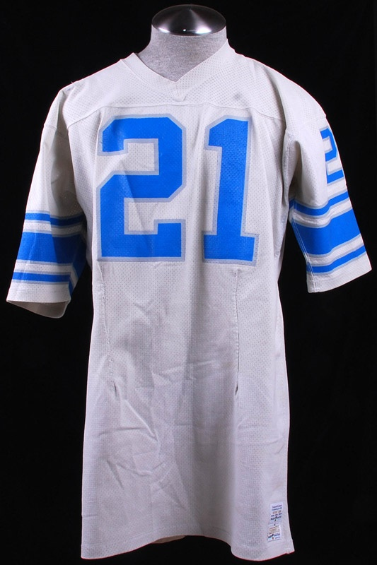 1970s Bobby Williams Detroit Lions Game Used Jersey