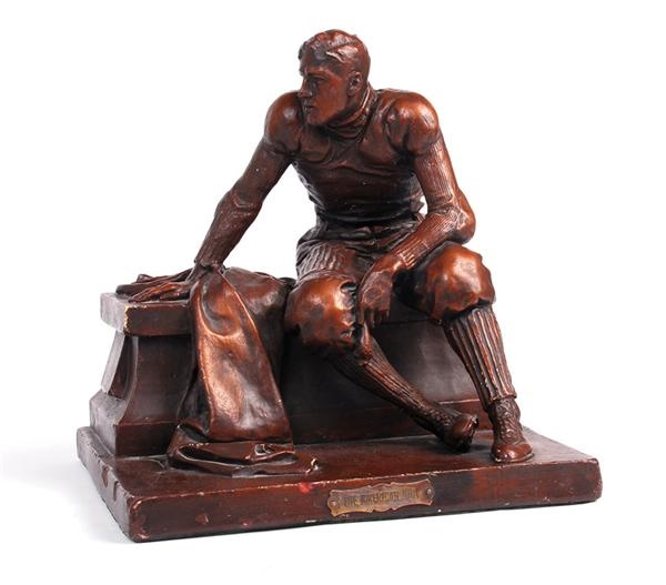 Incredible 1909 Football Statue