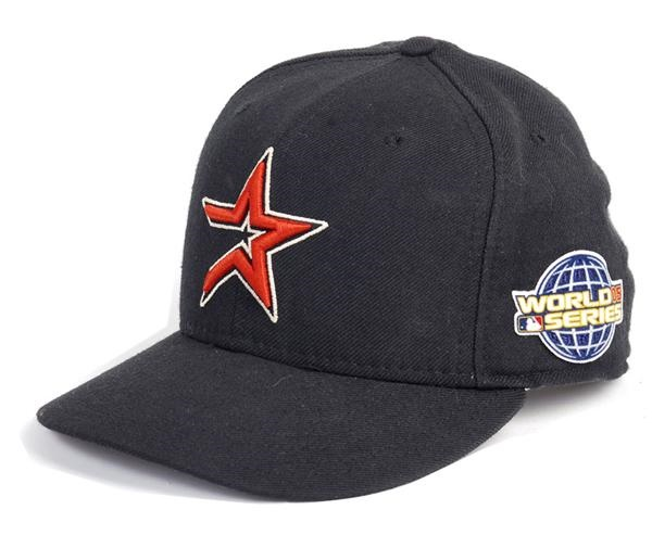 Roger Clemens 2005 World Series Game Used Astros Hat