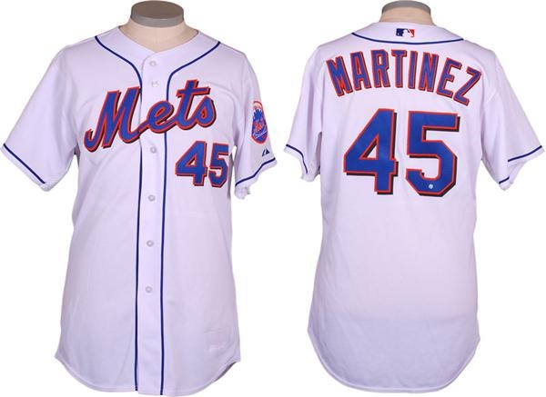 2006 Pedro Martinez Game Used Opening Day Jersey