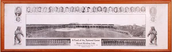 A Yard of the National Game Chicago Cubs Panoramic Print