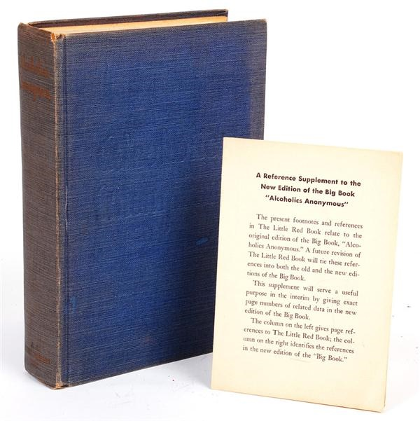 Alcoholics Anonymous First Edition (Second Printing)