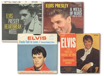 Elvis Presley Record Collection (23)