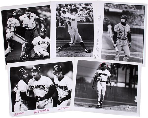 San Francisco Giants Baseball Oversized Photographs (250+)