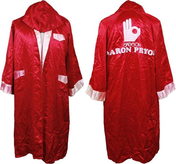 Aaron Pryor Fight Worn Robe