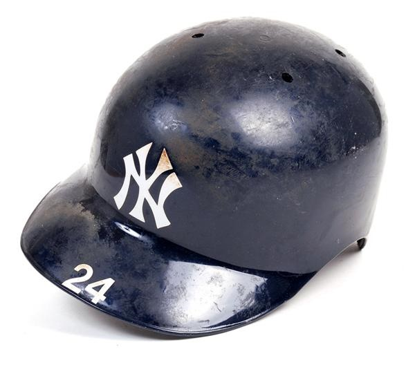 Tino Martinez Yankees Game Used Batting Helmet