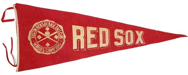 1916 Boston Red Sox World's Champions Large Pennant