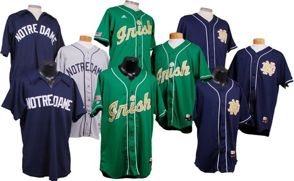 the best attitude 99b80 8e7bf Collection of Notre Dame Game Used Baseball Jerseys (9)