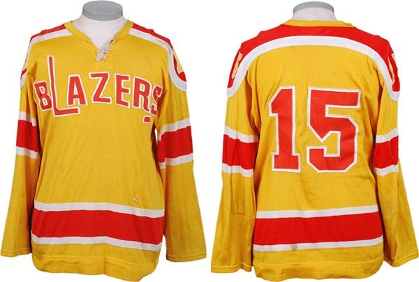 1973-75 Vancouver Blazers WHA Game Worn Jersey