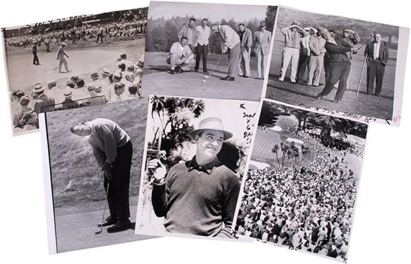 Golf Oversized Photographs with Ben Hogan and Arnold Palmer (90)