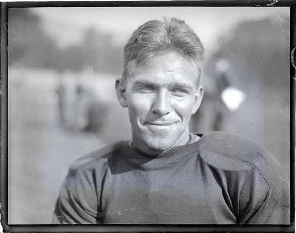1929 Cal Football Glass Plate Negatives with Wrong Way Riegels (18)
