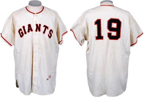 1959 Sam Jones Game Used San Francisco Giants Jersey
