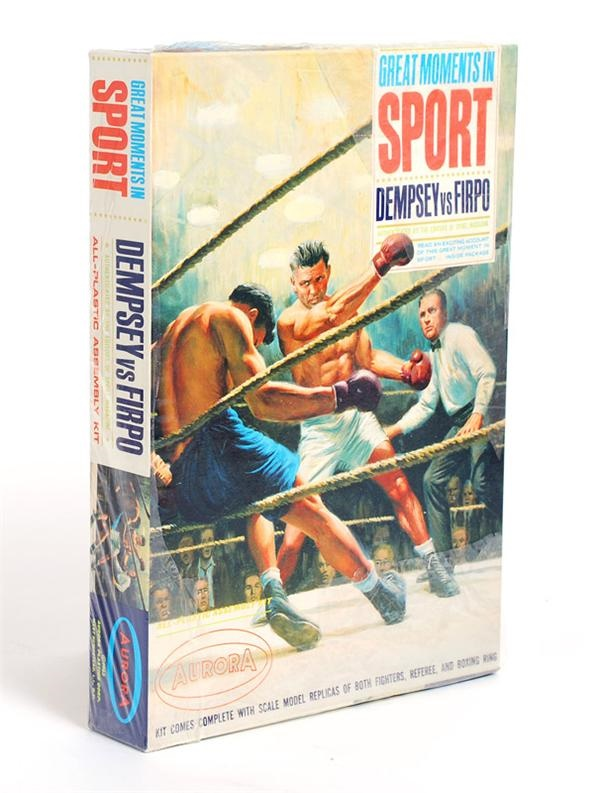 Jack Dempsey vs Firpo Aurora Model in Unopened Box