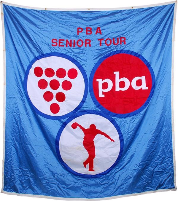 High Quality PBA Senior Tour Large Banner