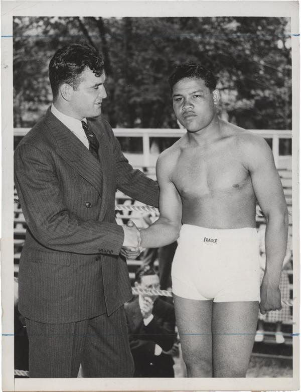 Joe Louis Meets James Braddock (1936)