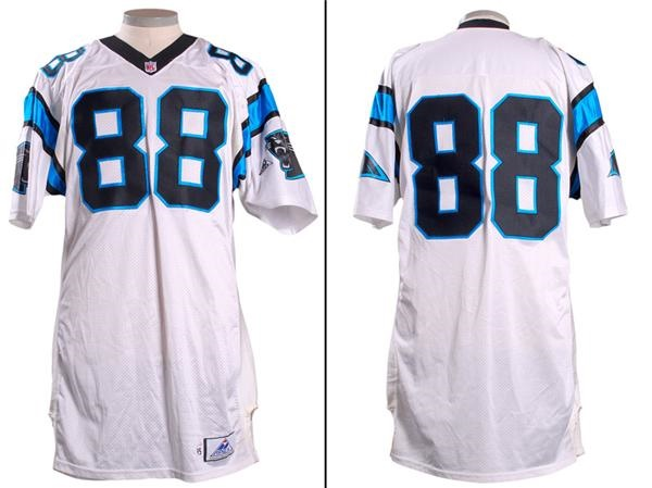 1995 Carolina Panthers Prototype Game Model Jersey