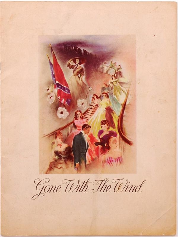 1939 Gone with the Wind Program