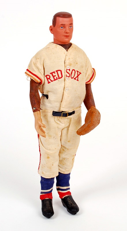 Rare Ted Williams Red Sox Large Doll (1950's)