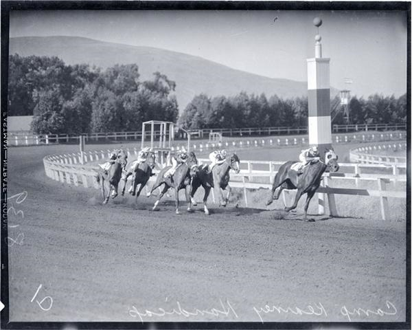 1930's Horse Racing Original Negatives with Glass Plates (70)
