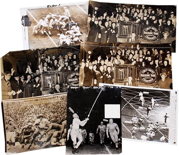 1940 Rose Bowl Wire Photos (8)