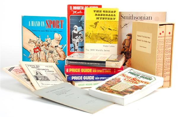 Collection of Hobby Sports and Nonsports Books with Scarce Titles (13)