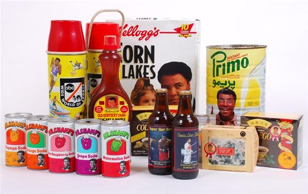 Muhammad Ali Endorsed Product Collection