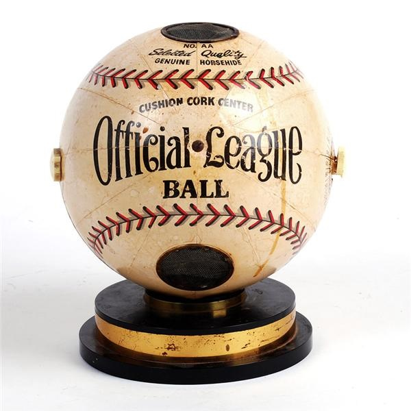 Official League Baseball Radio Trophy (1930's)