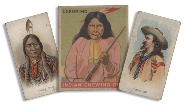 Pre-War Western Trading Cards with Sitting Bull, Buffalo Bill and Geronimo