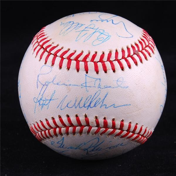 Baseball Hall of Famers Multi-Signed Ball with Koufax