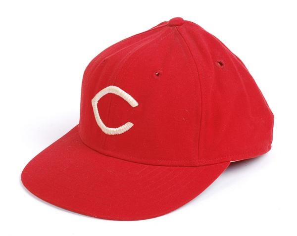 Sparky Anderson Reds Game Used Hat