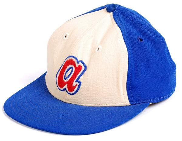 Phil Niekro Braves Game Used Hat