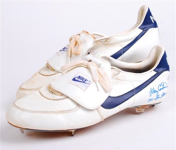 Gary Carter Game Used All-Star Game Cleats