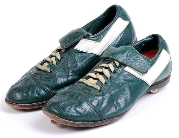 Billy Martin Oakland A's Game Used Cleats