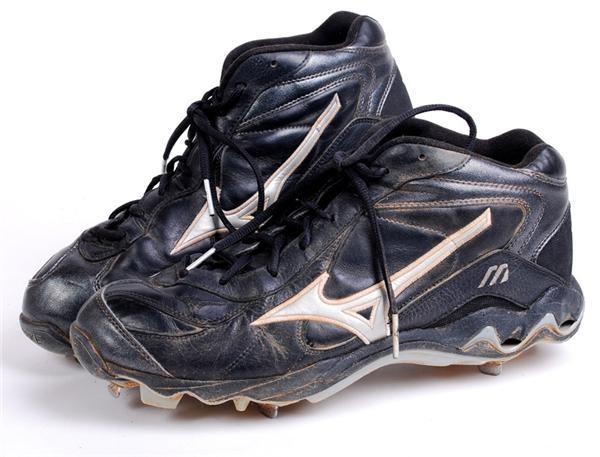 Chipper Jones Braves Game Used Cleats