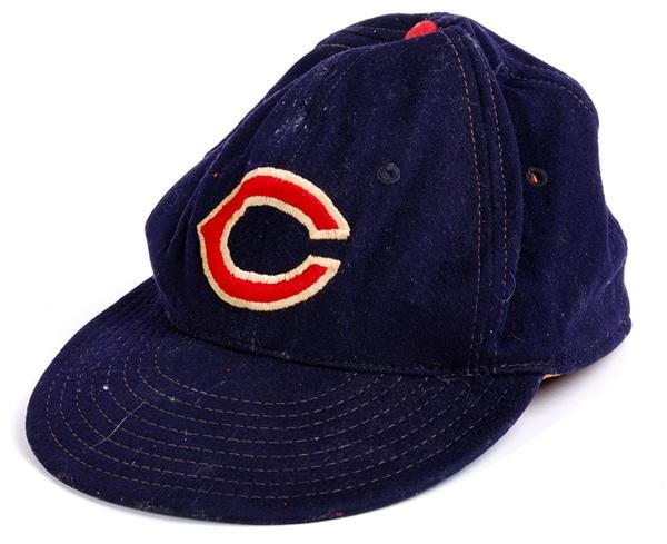 Cleveland Indians Game Used Hat (1950's)