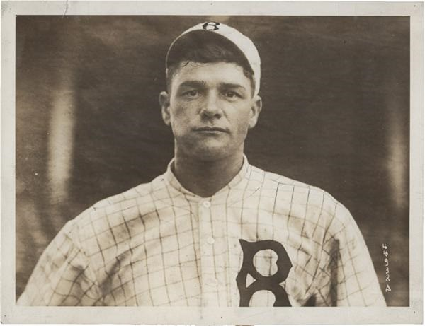 Youthful Photo of Hall of Famer Zack Wheat (Circa 1916)