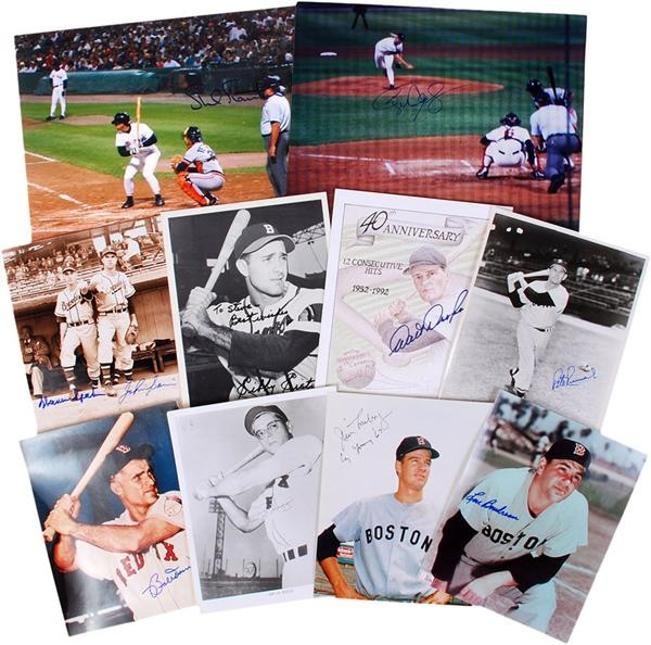 Boston Red Sox and Braves Signed Photos and Prints (27)