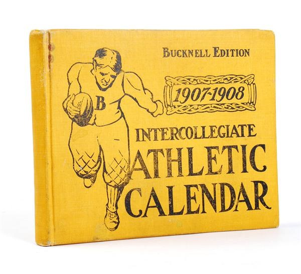 1907-08 Intercollegiate Athletic Calendar with Extensive Ivy League Coverage