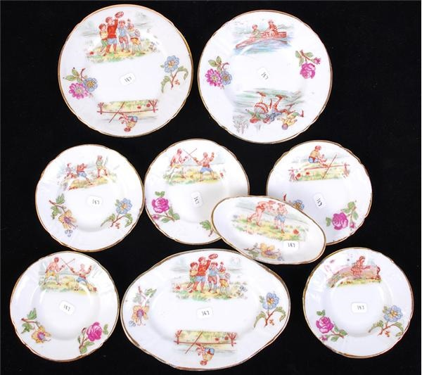 Colorful Children's Plates with Sports Themes (9)