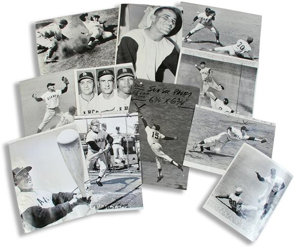 Baseball Photographs - Lots - auction