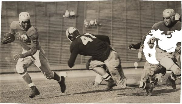 Jackie Robinson College Football Photographs SFX Archives (2)