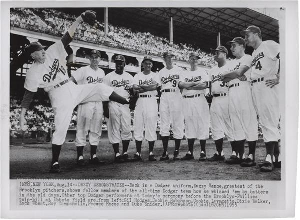 1955 Brooklyn Dodgers Photo from SFX Archives